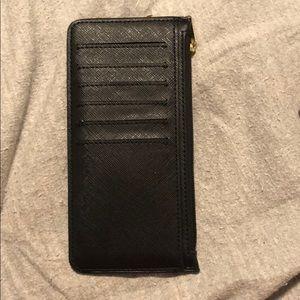 Black thin wallet